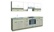 Kuchyňská linka PREMIO A plus 270 s pracovní deskou