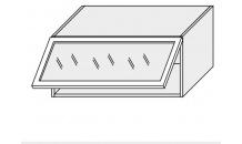Horní skříňka kuchyně Quantum W4BS 80 ALU jersey