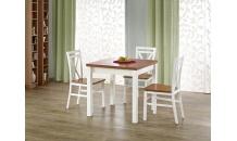 Jídelní stůl GRACJAN olše/bílý