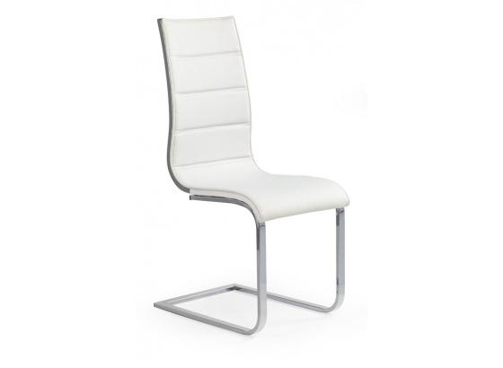 Jídelní židle K 104 bílá/šedá