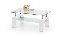 Konferenční stolek DIANA INTRO bílý lak