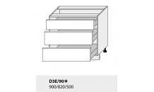 Dolní skříňka kuchyně Quantum D3E 90/grey