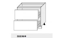 Dolní skříňka PLATINIUM D2E/90 grey