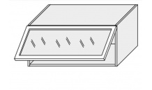 Horní skříňka EMPORIUM W4bs 80 MDF sklo bílá