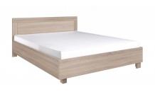Postel CEZAR 23 140x200 dub sonoma včetně matrace
