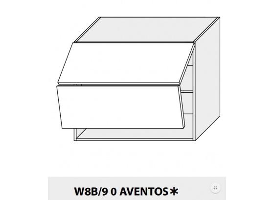 Horní skříňka kuchyně QUANTUM W8B 90 AV/grey