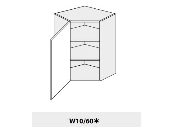 Horní skříňka kuchyně Quantum W10 60 rohová/grey
