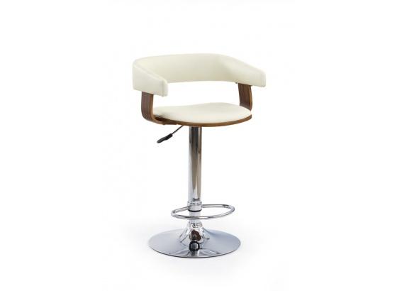 Barová židle  H 12 ořech / krémová