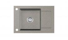 Kuchyňský dřez STEMA granit šedý