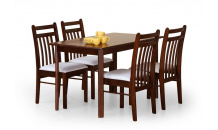 Jídelní stůl CALVIN masiv třešeň antická