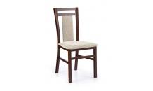 Jídelní židle HUBERT 8 ořech tmavý/Vila 2