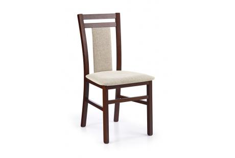Jídelní židle HUBERT 8 ořech tmavý-Vila 2