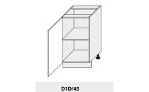 Dolní skříňka PLATINIUM D1D 45 grey