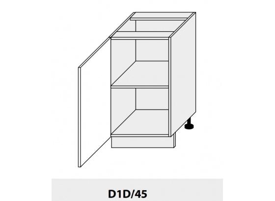 Dolní skříňka PLATINIUM D1D/45 grey