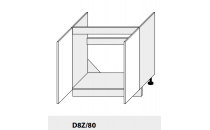 Dolní skříňka PLATINIUM D8Z 80 grey