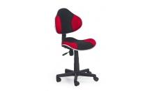 Dětská židle FLASH červená/černá