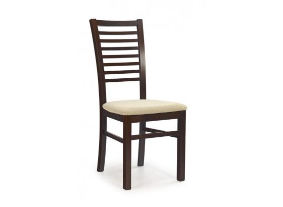 Jídelní židle GERARD 6 ořech tmavý/Torent beige