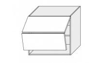 Horní skříňka PLATINIUM W8B 80 AV grey