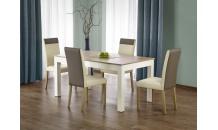 Jídelní stůl SEWERYN dub sonoma/bílý