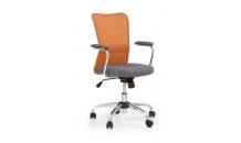 Dětská židle ANDY oranžovo/šedá