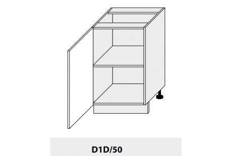 Dolní skříňka PLATINIUM D1D 50 grey