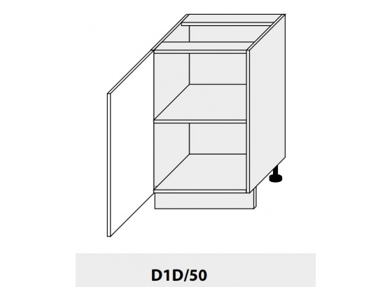 Dolní skříňka PLATINIUM D1D/50 grey