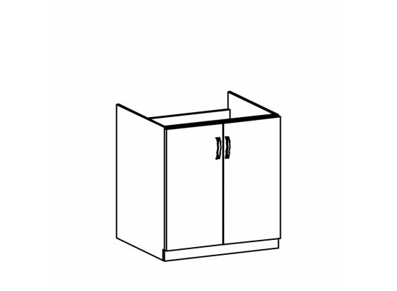 Dolní skříňka kuchyně ROYAL D80Z dřezová