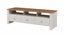 TV stolek BERG 5 krém/dub zlatý