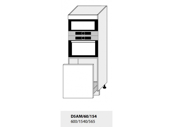 Skříň pro vestavbu PLATINIUM D5AM/60/154 grey