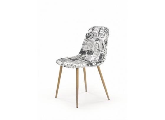 Jídelní židle K 220 vícebarevná/dub medový