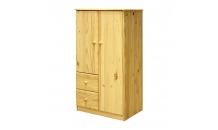 Prádelník 2 dveře + 2 zásuvky masiv borovice