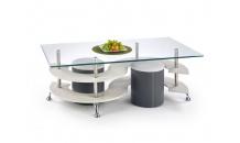 Konferenční stolek NINA 5 tmavě šedý
