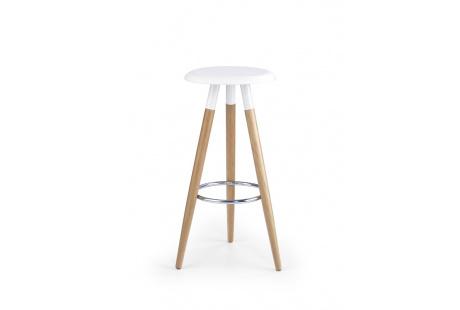 Barová židle H50 bílá