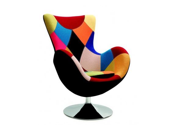 Relaxační křeslo BUTTERFLY patchwork