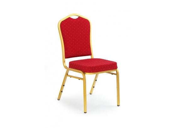 Jídelní židle K66 bordo/zlatá