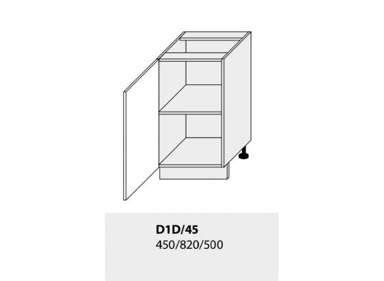 Dolní skříňka kuchyně TITANIUM D1D 45 grey