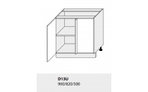 Dolní skříňka kuchyně Quantum D13 U/grey