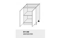 Dolní skříňka kuchyně TITANIUM D11 60 grey
