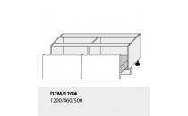 Dolní skříňka kuchyně TITANIUM D2M 120 grey