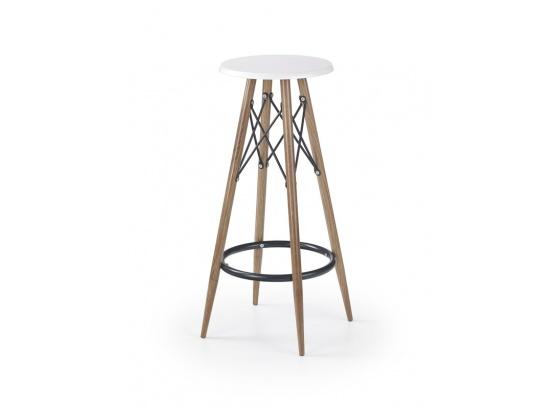 Barová židle H 68 bílá