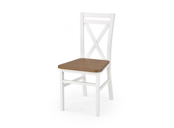 Jídelní židle DARIUSZ 2 bílá/olše