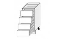 Dolní skříňka EMPORIUM D4E 40 bílá