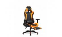 Kancelářské křeslo DEFENDER 2 černá/oranžová