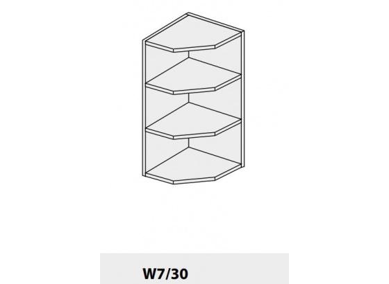 Horní skříňka PLATINIUM W7/30 grey