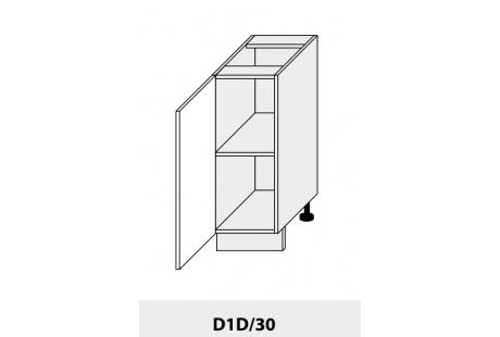 Dolní skříňka PLATINIUM D1D 30 grey
