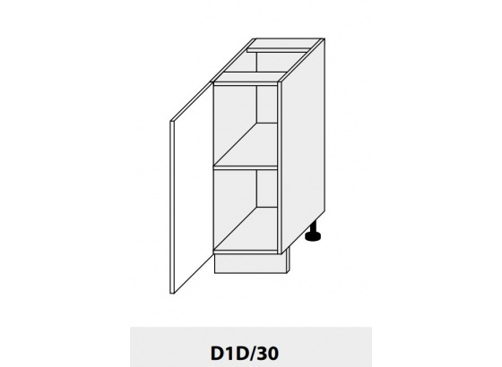Dolní skříňka PLATINIUM D1D/30 grey