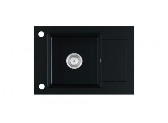 Kuchyňský dřez STEMA granit černý