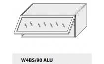 Horní skříňka kuchyně TITANIUM W4BS 90 ALU/grey