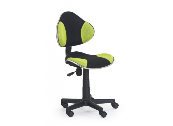 Dětská židle FLASH zeleno-černá