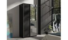 Šatní skříň RICK 100 černá